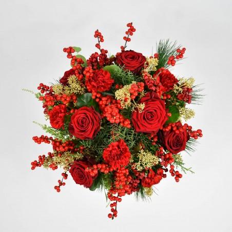 Rose & Bouvardia £21.99