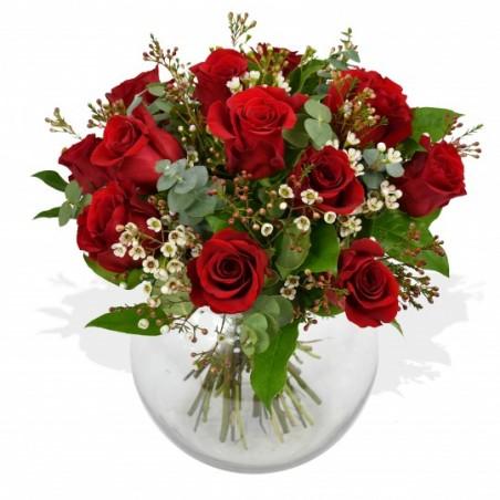 Classic Roses w/ Free Vase £39.99