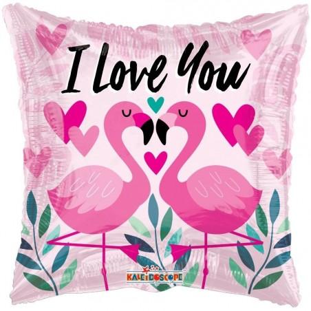 I Love You Flamingo £6.99