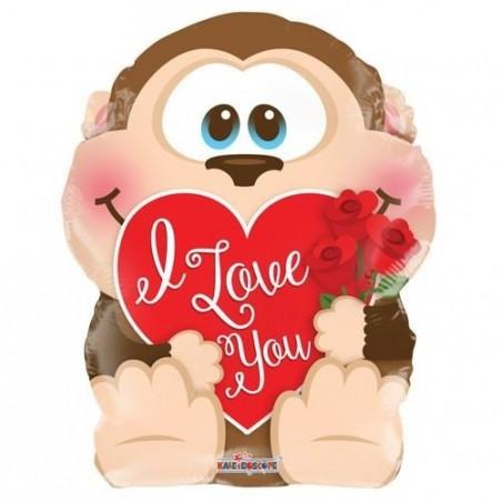 I Love You Monkey (18 inch) £6.99
