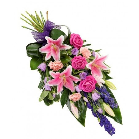 Pink & Purple Sheaf £49.99