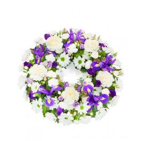 Blue & White Wreath £43.99