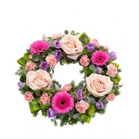 Pink Wreath £47.99
