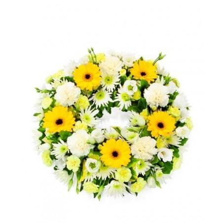 Yelow & White Wreath £44.99
