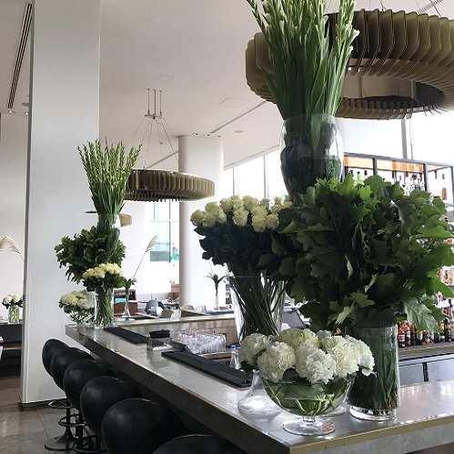 luxury weekly flowers for business