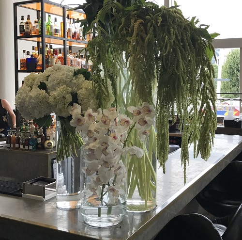 flowers for a bar