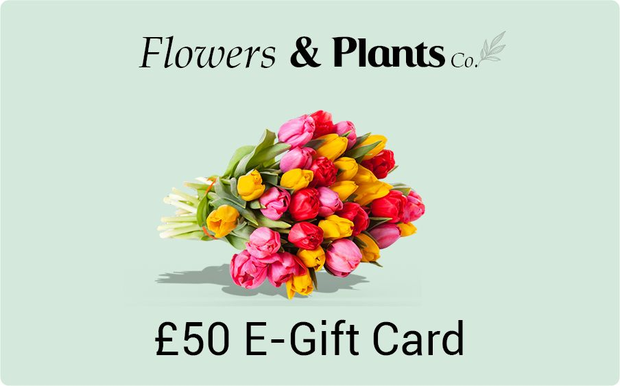 £50 flowers gift card