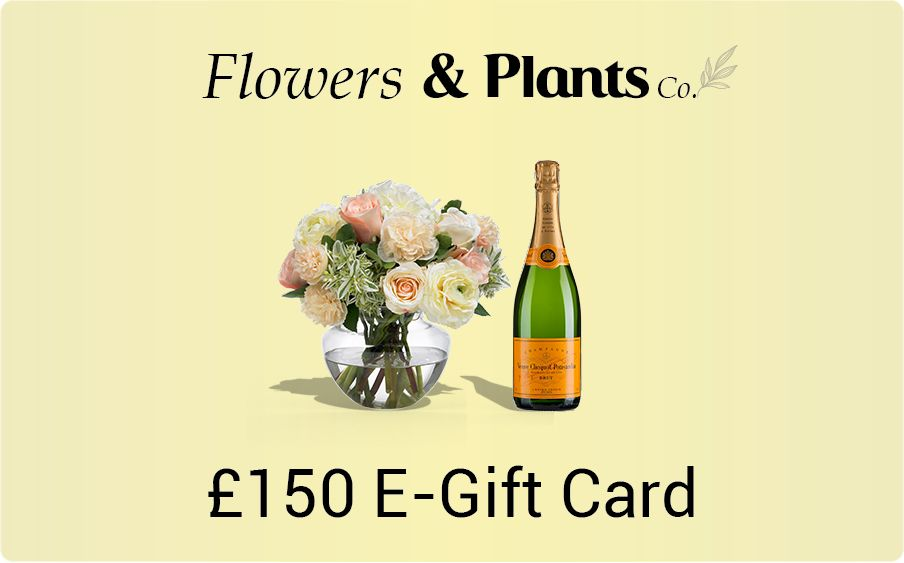 £150 flowers gift card