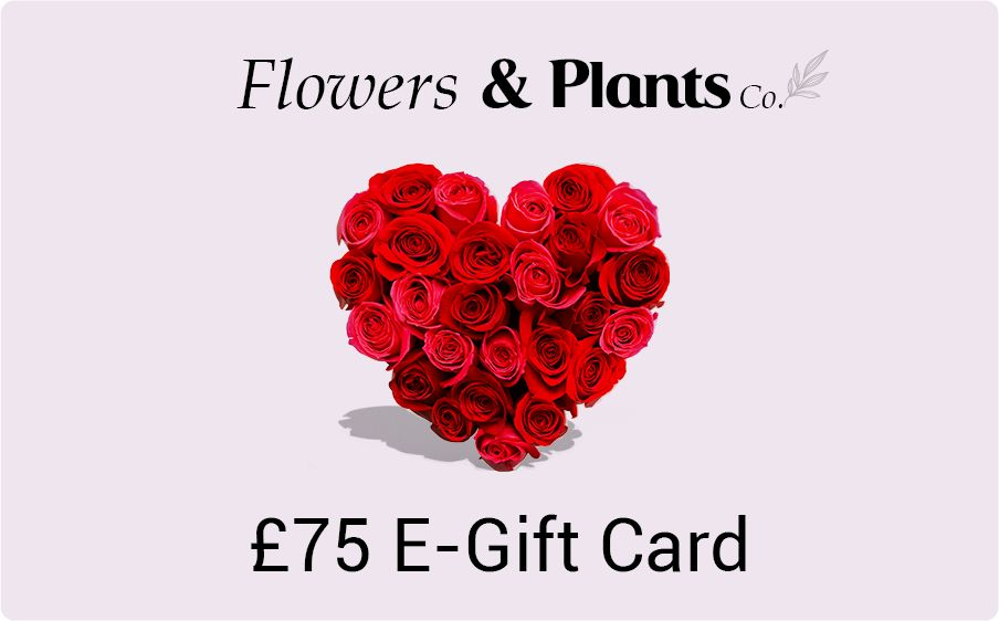 £75 flowers gift card